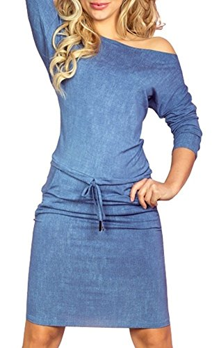Denim 14 Inch Dress - 5