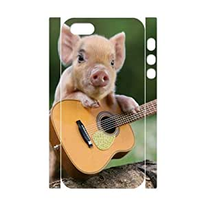 ALICASE Diy Customized Case Pig 3D Case for iPhone 5,5S [Pattern-1]