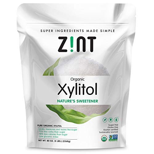 Organic Xylitol Sweetener XL (5 lbs): Keto Friendly, Low-Carb, Low-Calorie, USDA Organic Natural Sugar Substitute, Non GMO, Low Glycemic Index, Measures & Tastes Like Sugar by Zint (Image #9)