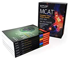Publisher's Note: Products purchased from third-party sellers are not guaranteed by the publisher for quality, authenticity, or access to any online entitles included with the product.  â€‹       Kaplan's MCAT Complete 7-Book Subject R...