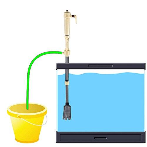 Etbotu Fish Tank Water Suction Pump Set Aquarium Electric Water Filter Water Changing Device Pet Supplies by Etbotu (Image #4)