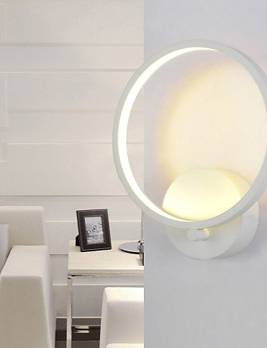 120v 15w Oil (Indoor modern LED Wall lamp 25CM 15W LED Modern/Contemporary Wall Sconces , white-110-120v)