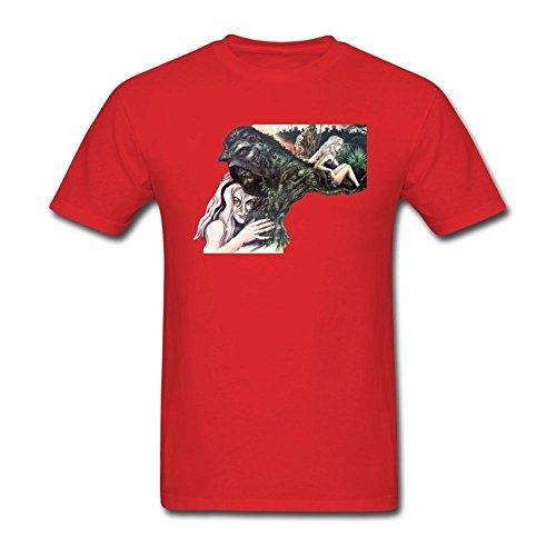 (Newm Men's Swamp Thing O Neck Short Sleeve T Shirt)