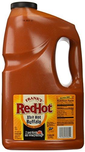 Frank's Redhot Xtra Hot Buffalo Wings Sauce, 128 (Franks Red Hot Buffalo Sauce)