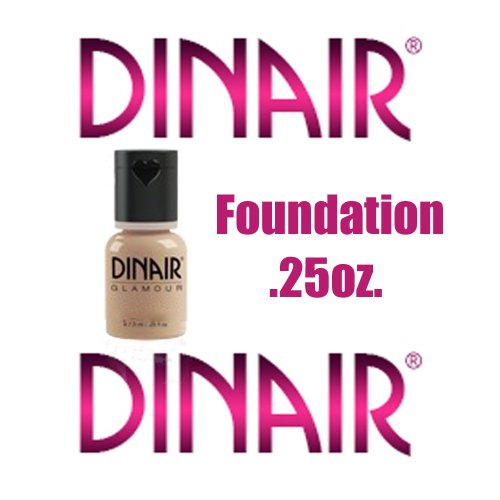 DINAIR AIRBRUSH MAKEUP – NATURAL BEIGE – .25 oz. – FOUNDATION GLAMOUR