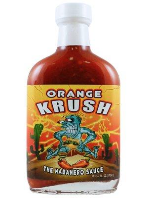 Orange Krush Hot Sauce (Pack of (Habanero Scoville Units)