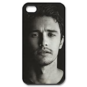 James Franco Personalized Boutique Brilliant Iphone 4 Or 4S Best Rubber+PC Case By Cinderella Magic
