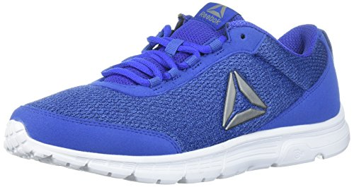Reebok Men's Speedlux 3.0 Sneaker, Acid Blue/coll. Navy/Electric Flash/White/Pewter, 6.5 M US