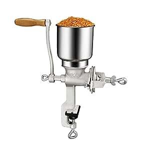 Bioexcel Corn Grinder Manual Premium quality Cast Iron with Table Clamp, molino de maiz, Grind Soybean, Mill Grinder, Grain Mill, Nuts, Multigrain