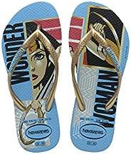 Chinelo Slim Wonder Woman, Havaianas, Meninas