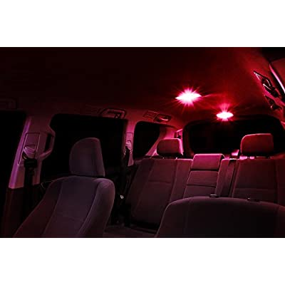 Xtremevision Interior LED for Lexus IS250 IS350 ISF 2006-2013 (14 Pieces) Red Interior LED Kit + Installation Tool Tool: Automotive
