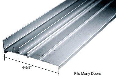 CRL Aluminum OEM Replacement Patio Door Threshold 4-5/8