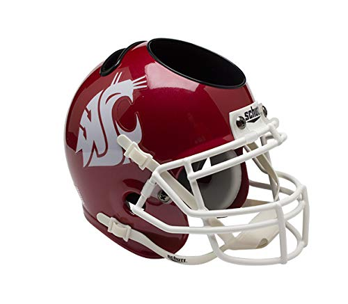 NCAA Washington State Cougars Helmet Desk Caddy, Crimson ()