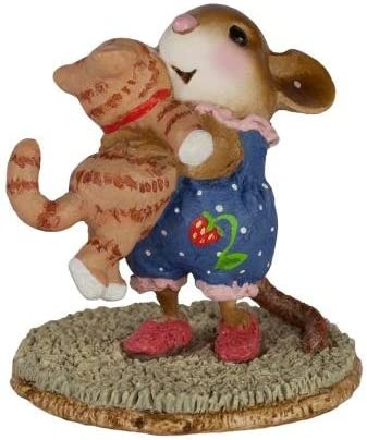 Wee Forest Folk M-355 Kitty Cuddle – Tabby