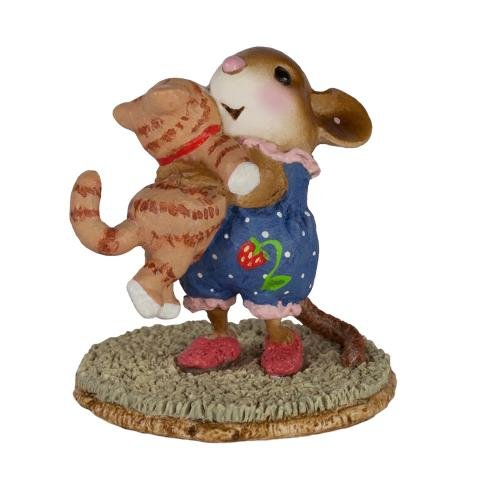 Wee Forest Folk M-355 Kitty Cuddle - Tabby (New Color) made in Massachusetts