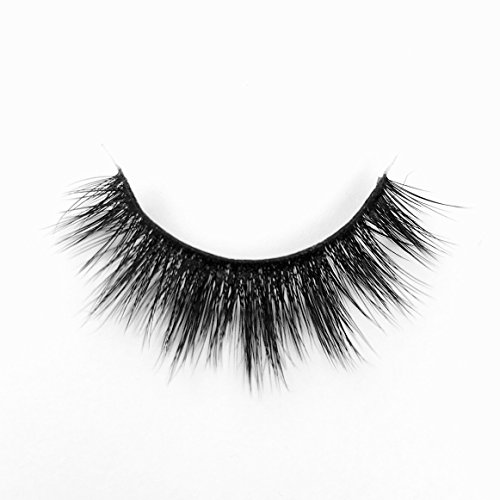 Kittee Lash Faux Mink False Lashes : CENTER STAGE Non Magnetic Eyelashes Full and Glam