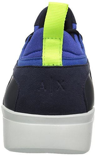 Men Captain Exchange A Lowtop Armani Sky Sneaker X Detail Athletic Mesh FTvw1xnqOv