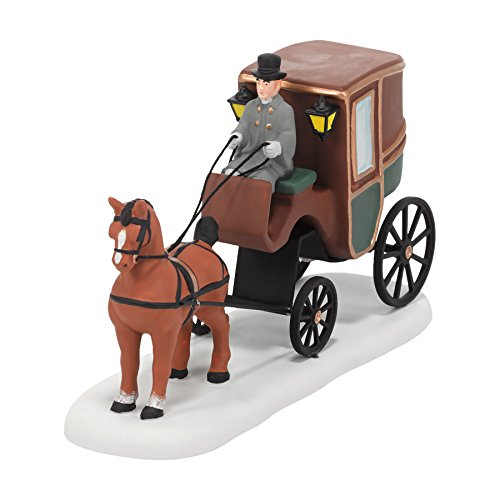 Dickens Village Collectibles - Department 56 Dickens' Village Carriage Ride Accessory Figurine, 2.24 inch
