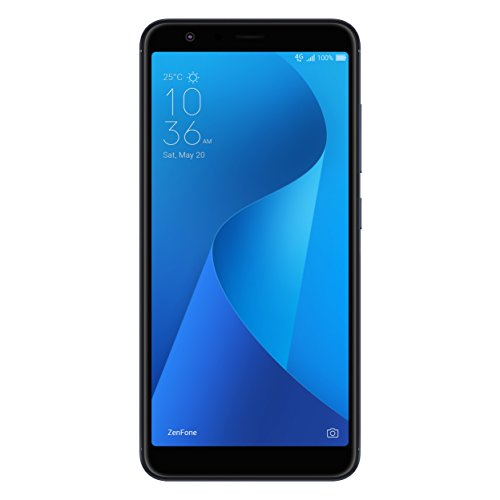 ASUS ZenFone Max Plus (M1) Factory Unlocked Phone – 5.7″ Screen – 32GB – Moonlight Black (U.S. Warranty)
