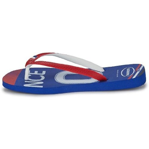 769412d6750111 Havaianas Team France Blue White Red Mens New Summer Beach Flip Flops 60%OFF