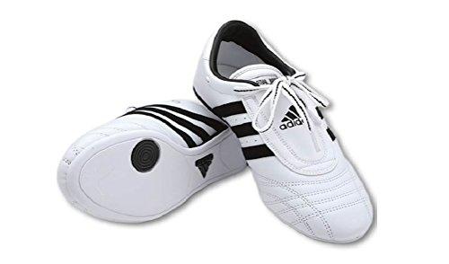 Adidas SM-II Low Cut Sneaker Sneaker (White with Black Stripes) - Size 13