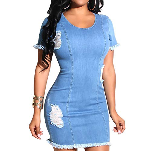 See the TOP 10 Best<br>Blue Jean Dresses For Women