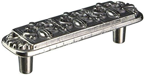 Laurey 13460 3-Inch Fleur De Lis Pull, Antique Silver Laurey Antique Pull