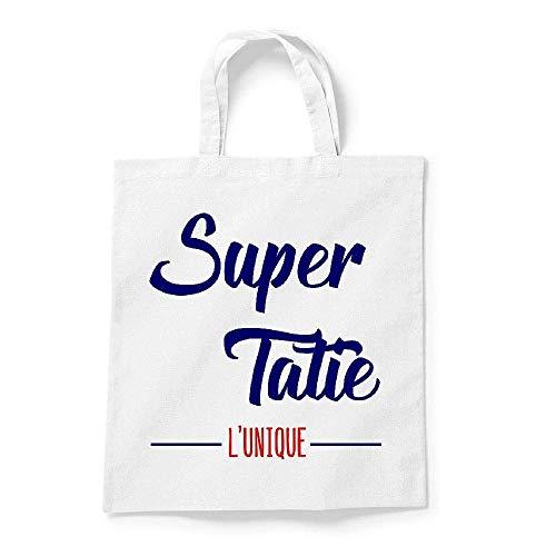 Gs tatie Super Coton Tote bag Blanc TRqI5w1x