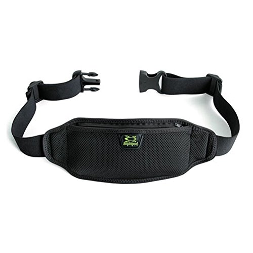 Amphipod Running Gear - Amphipod AirFlow Lite Waistpack, Color:Black, OS