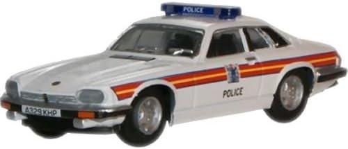 Jaguar XJS Police Car 1:76 Oxford Diecast Model Car British