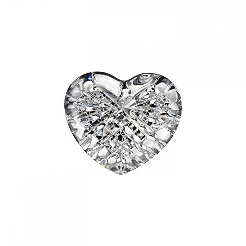 Designers Waterford Crystal - Waterford Celtic Heart Paperweight
