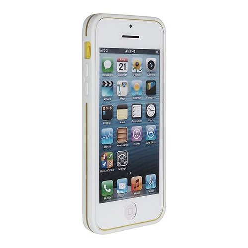 PureGear iPhone 5C Slim Shell Case - Retail Packaging - Coconut Jelly (Pure Gear Slim Shell Iphone 5c)