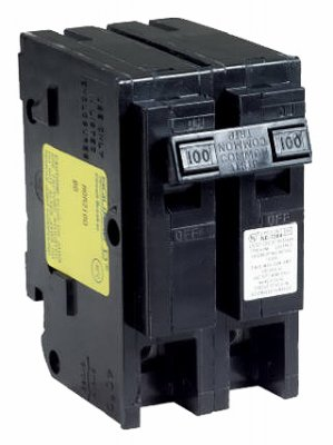 Square D by Schneider Electric HOM2125CP Homeline 125-Amp Two-Pole Circuit Breaker by Square D by Schneider Electric