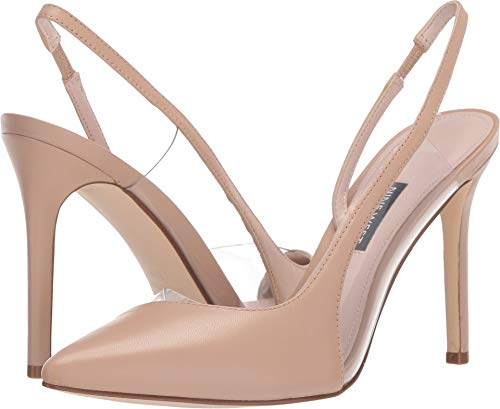 Nine West Women's Toffee Pointed Toe Slingback Pump Light Natural 6 M US