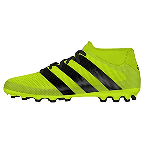 adidas Ace 16.3 Primemesh FG/AG J, Botas de Fútbol Para Niños, Amarillo (Amasol/Negbas/Plamet), 35 1/2 EU
