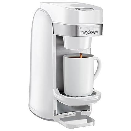 Hamilton Beach Flexbrew Single Serve Coffee Maker 49967c White