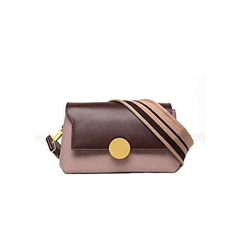 Jujube Large Fashion Leather Messenger Broadband Handbag XDDB Color Bag Pink Fight Joker pTwzxFqg