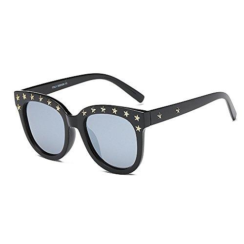 para Gafas Yxsd Aviador Metal de de de Protección Purple con Gray UV400 Sol SunglassesMAN Marco Color Hombre de dq15xCqY