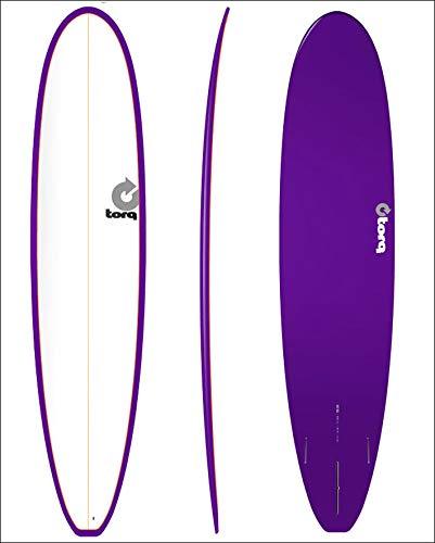 TORQ SurfBoard トルク サーフボード COLOR PINLINE2 [紫の PINLINE] LONGBOARD 8'6 ロングボード エポキシボード EPS