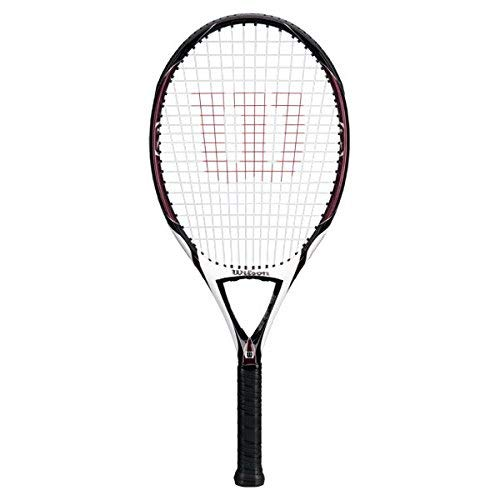 (Wilson [K] Zero Strung Performance Value Tennis Racket (Red/Black, 4 3/8))