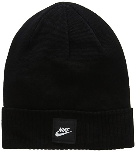 Nike Ribbed Beanie - Nike Futura Knit Hat Black Size One Size