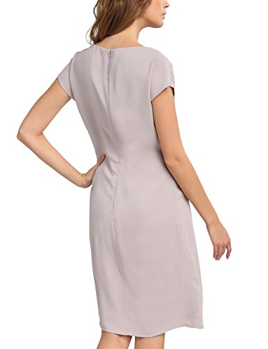 Taupe APART Damen Grau Fashion Kleid aBXXqnrI5
