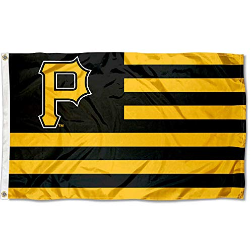 WinCraft MLB Pittsburgh Pirates Nation Flag 3x5 Banner ()