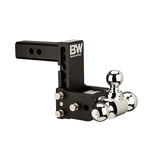 Bombs Away Pin - B&W Trailer Hitches Tow & Stow 5in Drop 4.5in Rise 1 7/8x2x2 5/16in Triple Ball Size Hitch