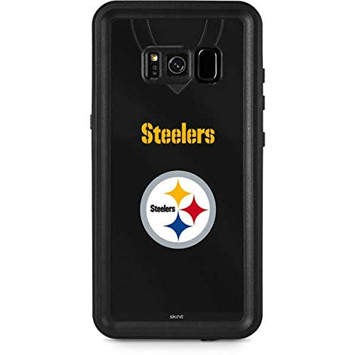 Skinit Pittsburgh Steelers Team Jersey Galaxy S8 Plus Waterproof Case - Officially Licensed NFL Phone Case Waterproof - Snow, Dust, Waterproof Galaxy S8 Plus Cover