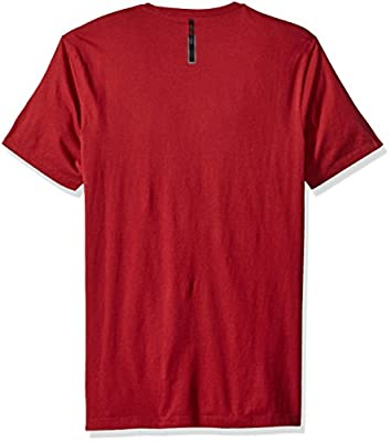Calvin Klein Jeans Men's Pixel Ck Logo Crew Neck T-Shirt