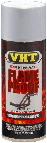 (VHT SP117 FlameProof Coating Flat Aluminum Paint Can - 11 oz.)