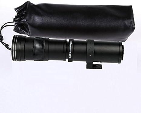 TOP-MAX 420 – 800 mm Enfoque Manual Super teleobjetivo para ...