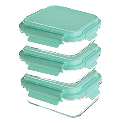 Healthy Meal Prep Containers - Certified BPA-free - Reusable, Washable, Microwavable Food Storage Containers with Lids - Bento Box