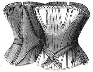 1887 Ladies Negligé Corset Pattern - 26